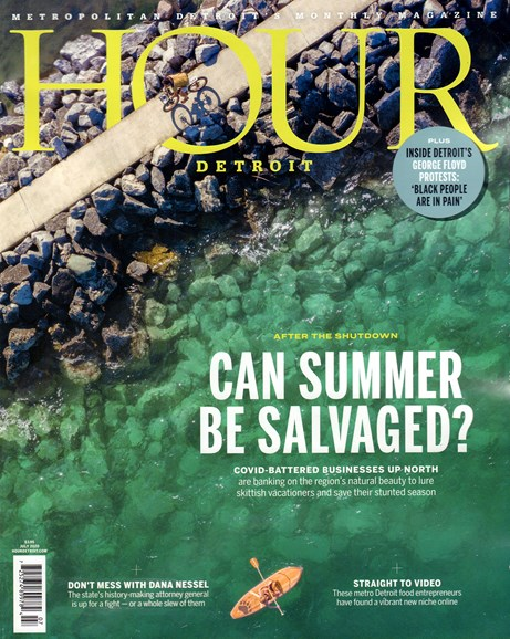 Hour Detroit Cover - 7/1/2020
