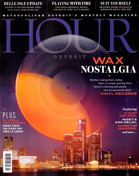 Hour Detroit Cover - 4/1/2020