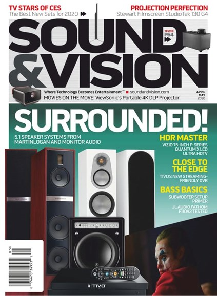 Sound & Vision Cover - 4/1/2020