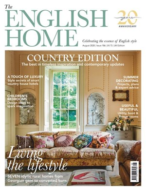 English Home Magazine | 8/2020 Cover