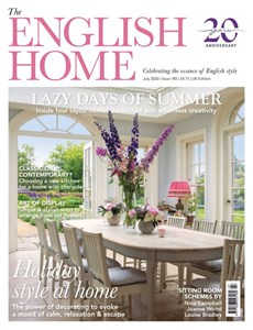 The English Home | 7/2020 Cover