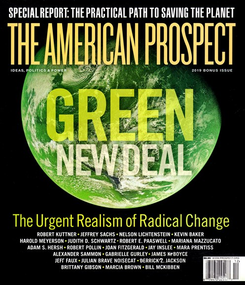 The American Prospect Cover - 12/1/2019