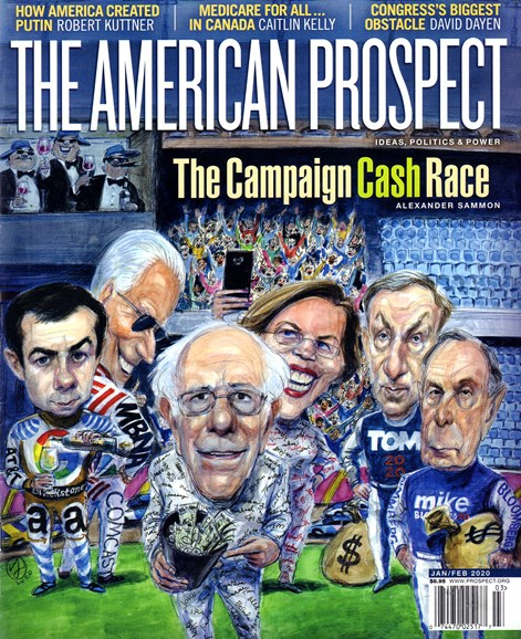The American Prospect Cover - 1/1/2020