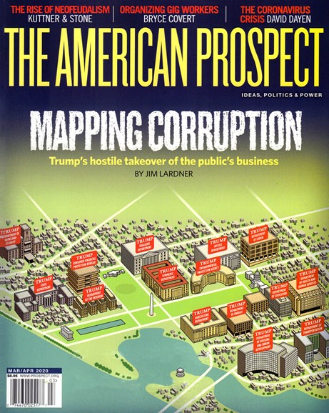 The American Prospect Cover - 3/1/2020