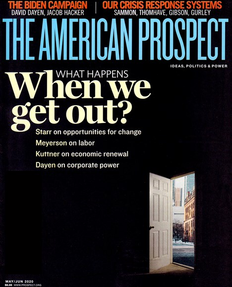 The American Prospect Cover - 5/1/2020