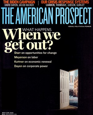 The American Prospect Magazine | 5/2020 Cover