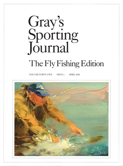 Gray's Sporting Journal Cover - 4/1/2020