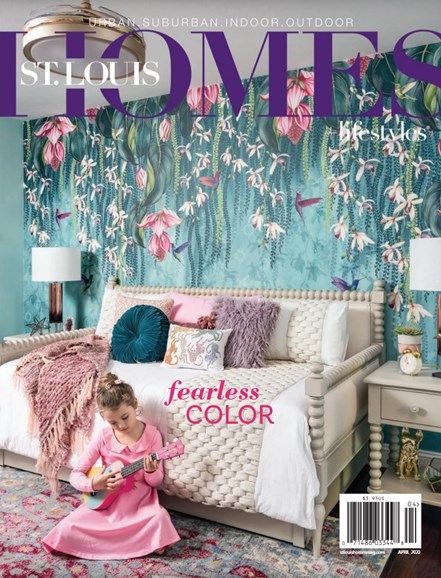 St. Louis Homes & Lifestyles Cover - 4/1/2020