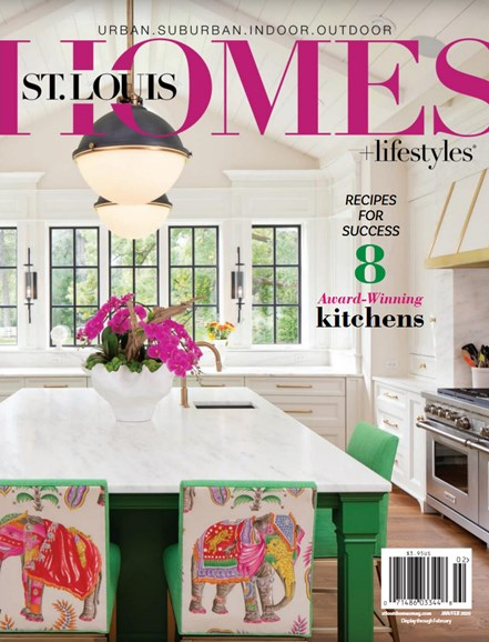 St. Louis Homes & Lifestyles Cover - 1/1/2020