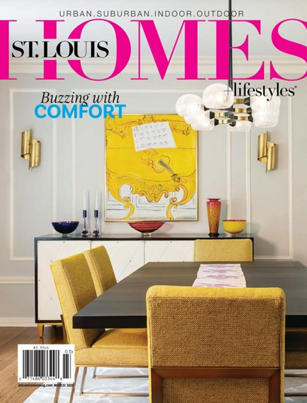 St. Louis Homes & Lifestyles Cover - 3/1/2020