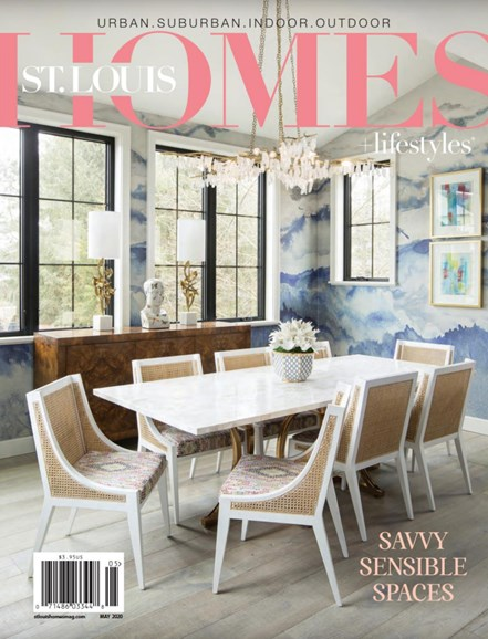 St. Louis Homes & Lifestyles Cover - 5/1/2020