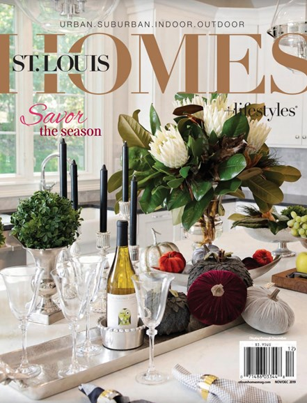 St. Louis Homes & Lifestyles Cover - 11/1/2019