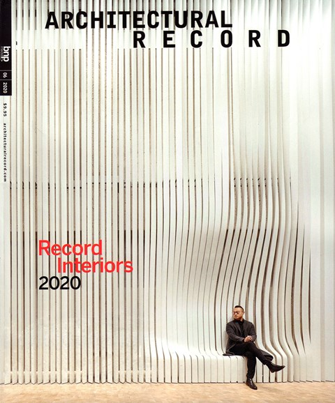 Architectural Record Cover - 6/1/2020