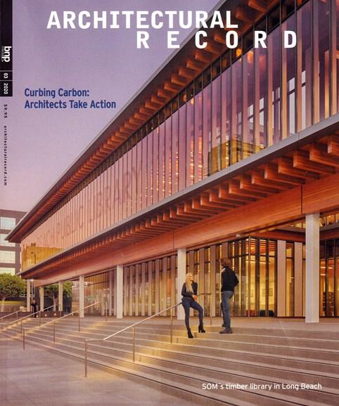 Architectural Record Cover - 3/1/2020