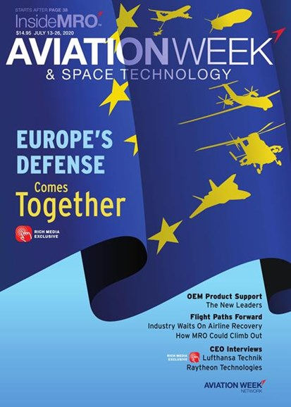 Aviation Week & Space Technology Cover - 7/13/2020