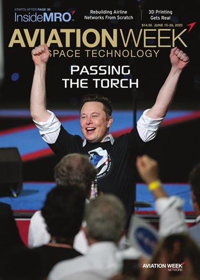 Aviation Week & Space Technology Cover - 6/15/2020