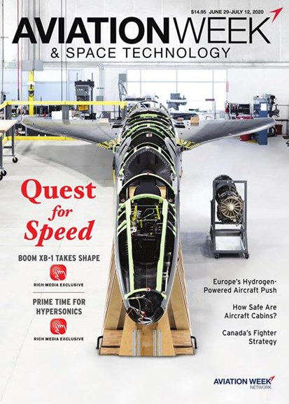 Aviation Week & Space Technology Cover - 6/29/2020