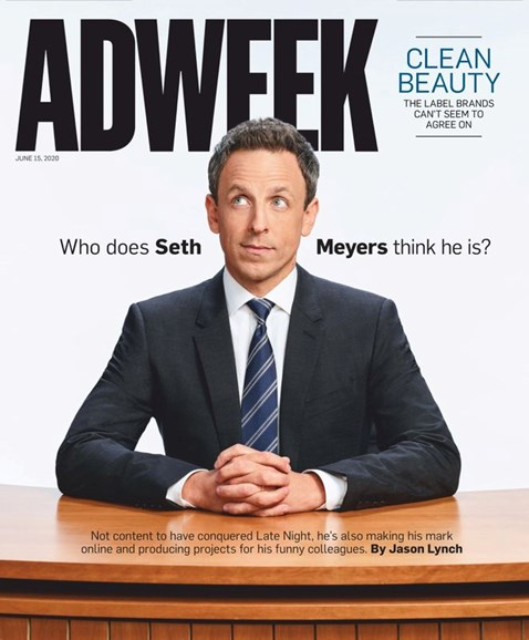 Adweek Cover - 6/15/2020