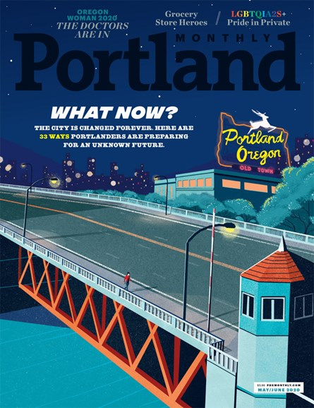 Portland Monthly Cover - 5/1/2020