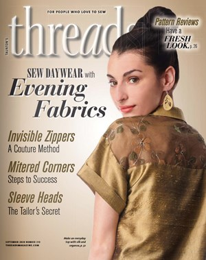 Threads Magazine | 9/2020 Cover