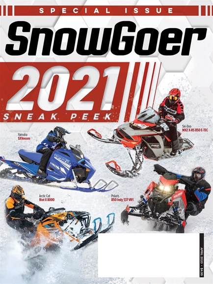 Snow Goer Cover - 4/1/2020