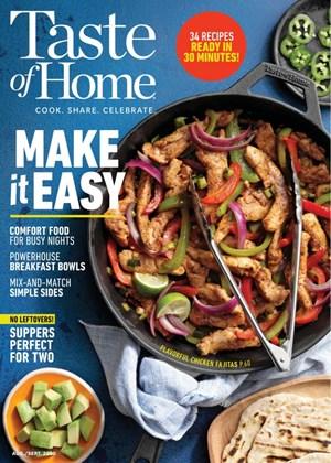 Taste of Home | 8/2020 Cover