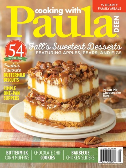 Cooking With Paula Deen Cover - 9/1/2020