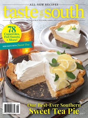 Taste Of The South Magazine | 9/2020 Cover