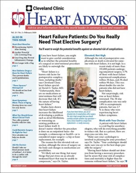 Heart Advisor Cover - 2/1/2020