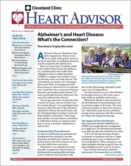 Heart Advisor Cover - 3/1/2020