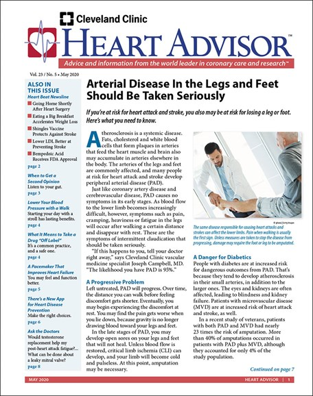 Heart Advisor Cover - 5/1/2020
