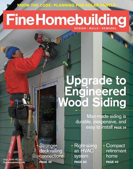 Fine Homebuilding Cover - 7/1/2020