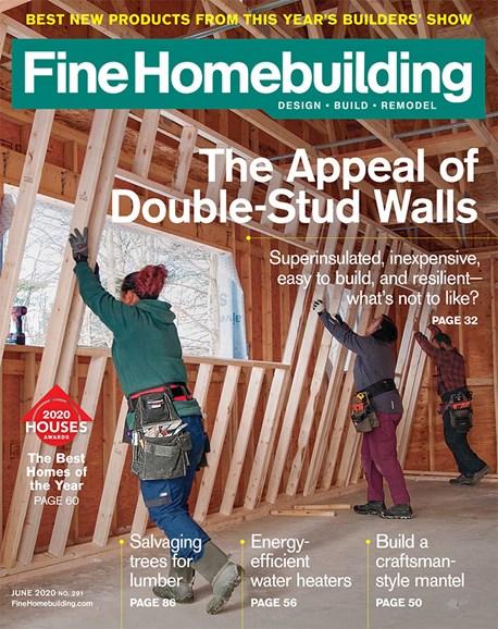 Fine Homebuilding Cover - 6/1/2020