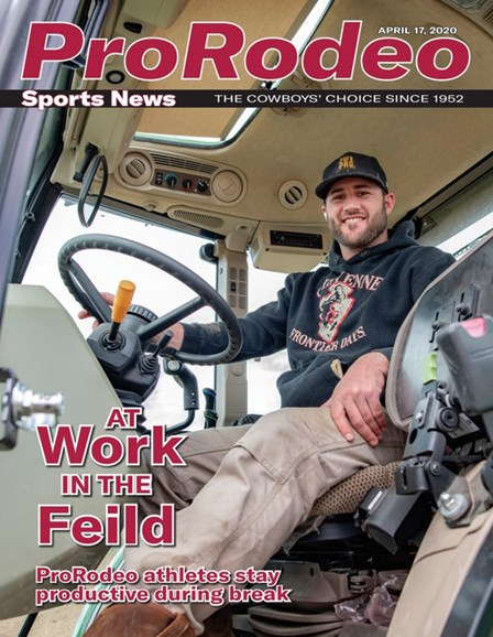 Pro Rodeo Sports News Cover - 4/17/2020