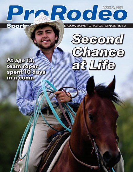 Pro Rodeo Sports News Cover - 4/3/2020