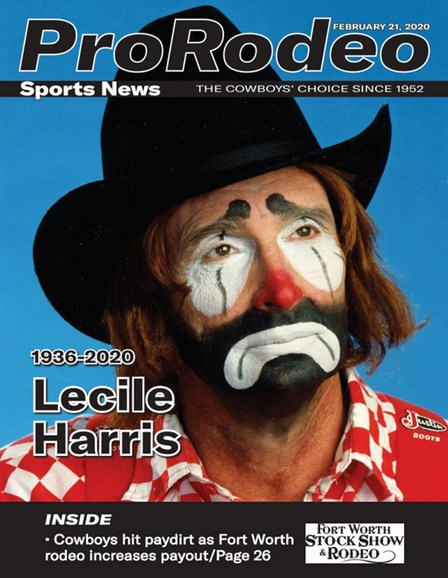 Pro Rodeo Sports News Cover - 2/21/2020