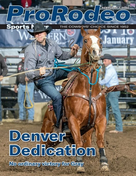 Pro Rodeo Sports News Cover - 2/7/2020