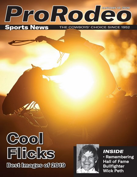 Pro Rodeo Sports News Cover - 1/10/2020