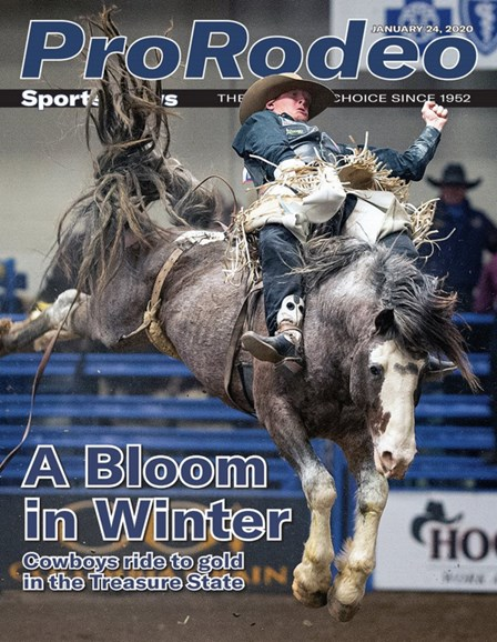 Pro Rodeo Sports News Cover - 1/24/2020