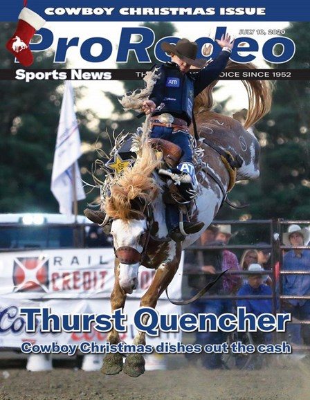Pro Rodeo Sports News Cover - 7/10/2020
