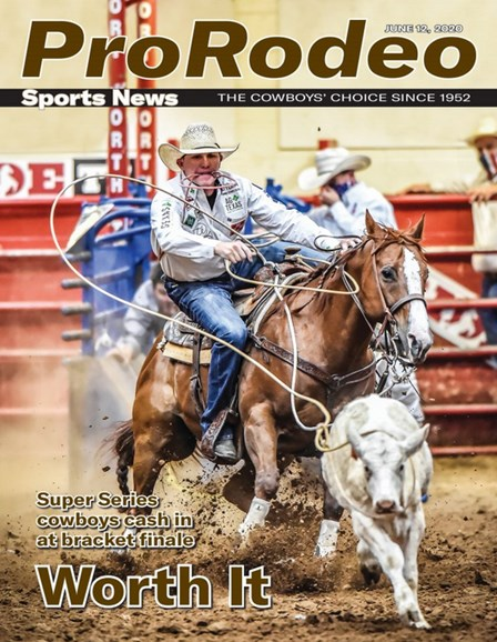 Pro Rodeo Sports News Cover - 6/12/2020