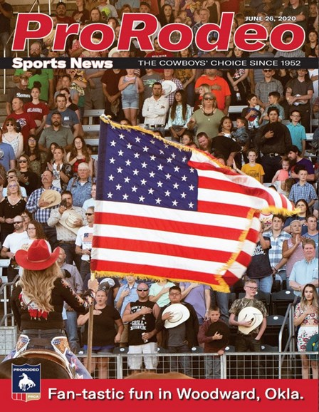 Pro Rodeo Sports News Cover - 6/26/2020