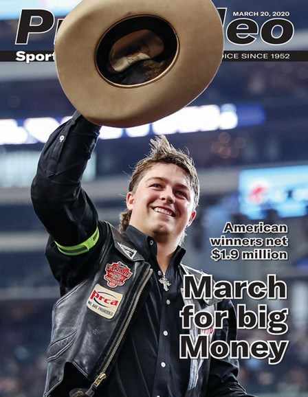 Pro Rodeo Sports News Cover - 3/20/2020