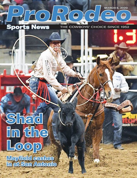Pro Rodeo Sports News Cover - 3/6/2020