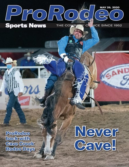 Pro Rodeo Sports News Cover - 5/29/2020