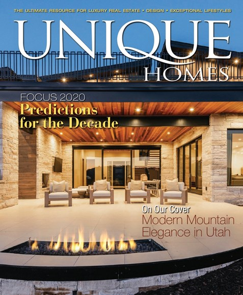 Unique Homes Cover - 1/1/2020