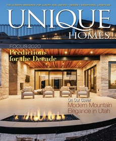 Unique Homes   1/2020 Cover