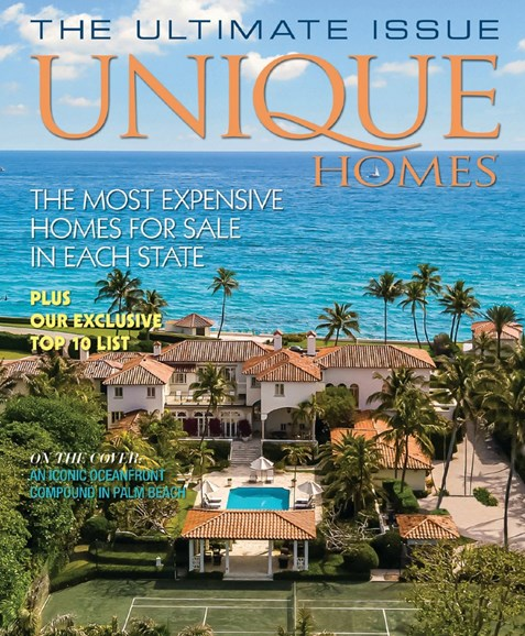 Unique Homes Cover - 7/1/2020