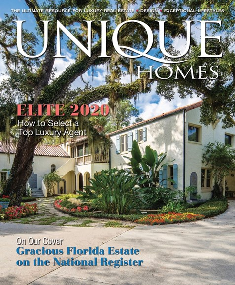 Unique Homes Cover - 4/1/2020