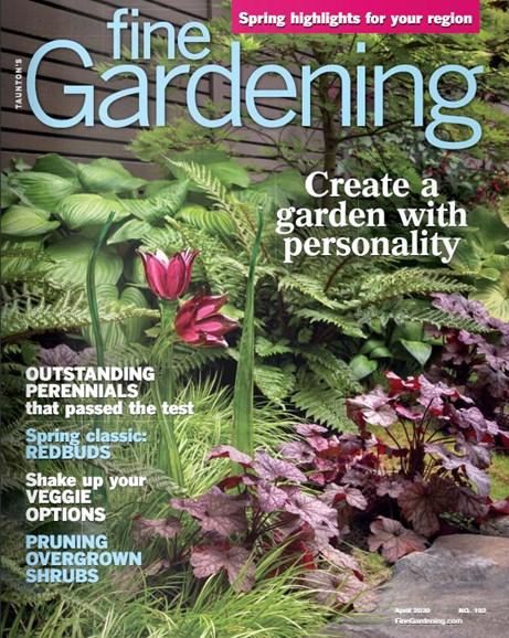 Fine Gardening Cover - 4/1/2020